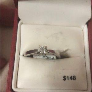 Jewelry - 1/5 carat title weight diamond